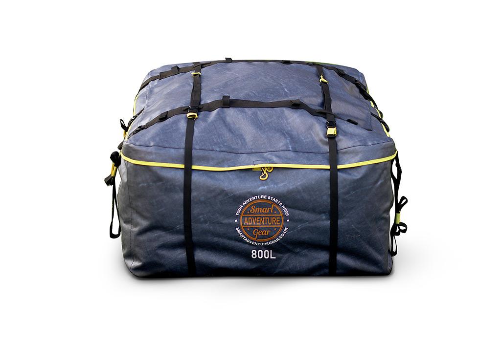 Jumbo Travel Gear Car Roof Bag 800l Waterproof No Rack